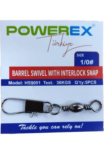 Powerex HS9001 No: 1 0 Klipsli Fırdöndü 5'li Paket