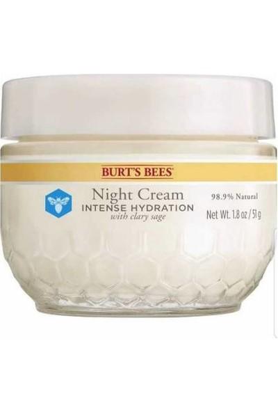 Burt's Bees Burts Bees Night Cream Kuru Ciltler Için 50 gr