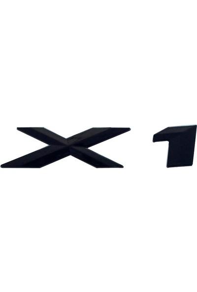 Bmw Depo Bmw X1 Bagaj Logo Siyah 51147187129