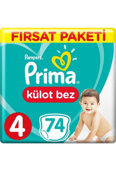 Prima Külot Bebek Bezi 4 Beden 72 Adet Maxi Fırsat Paketi