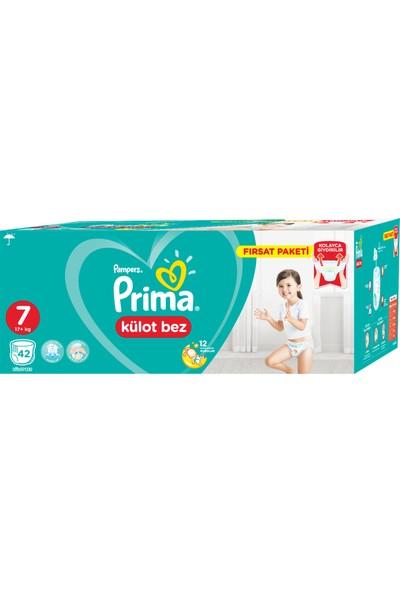 Prima Külot Bebek Bezi 7 Beden 42 Adet XXL Fırsat Paketi