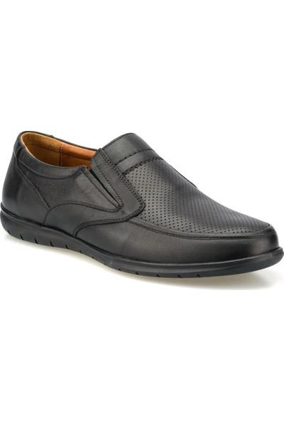Polaris 5 Nokta 102060.M Siyah Erkek Klasik Ayakkabı