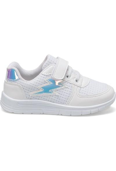 I Cool VANYA Beyaz Kız Çocuk Yürüyüş Ayakkabısı