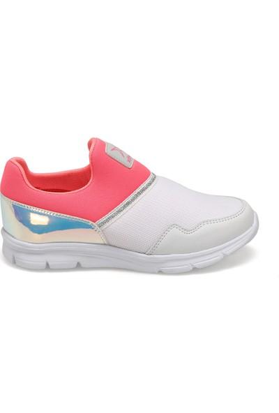 Kinetix COTTA Beyaz Kız Çocuk Slip On Ayakkabı