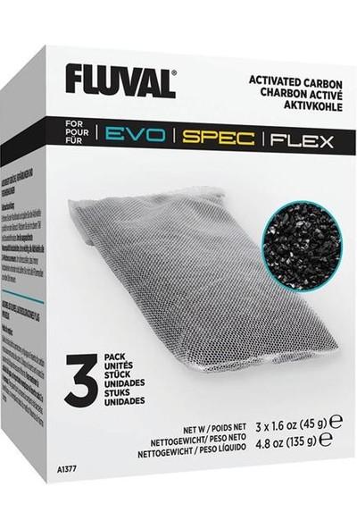 Fluval Flex 3lü Karbon Filtre 3 x 45 gr