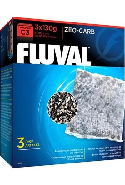 Fluval C3 Zeo Karbon 3 x 140 gr