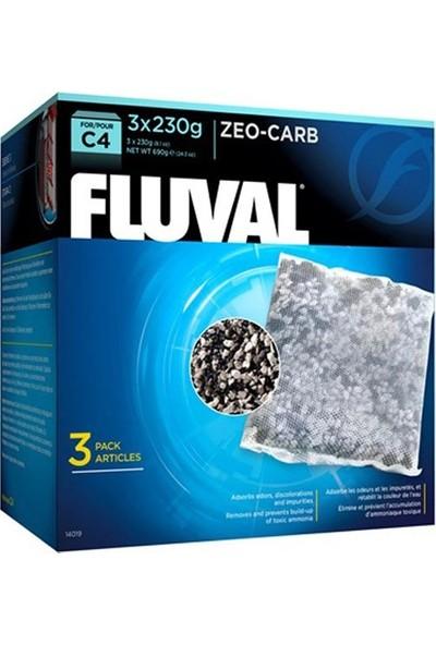 Fluval C4 Zeo Karbon 230 gr