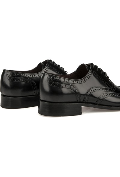 Ziya Kösele Erkek Deri Klasik Ayakkabı 10111 00603 Siyah