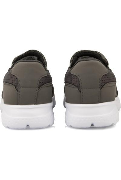 Uniquer Erkek Günlük Ayakkabı 101354U 500 Gri