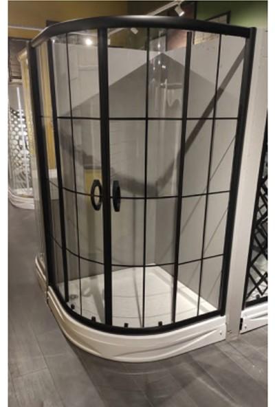Mona Stone Oval Özel Black Seri 90 x 90 cm H: 180