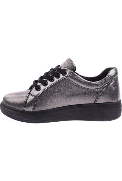 Dgn 399 Kadın Yanı Kesme Taşlı Sneakers Ayakkabı 20Y