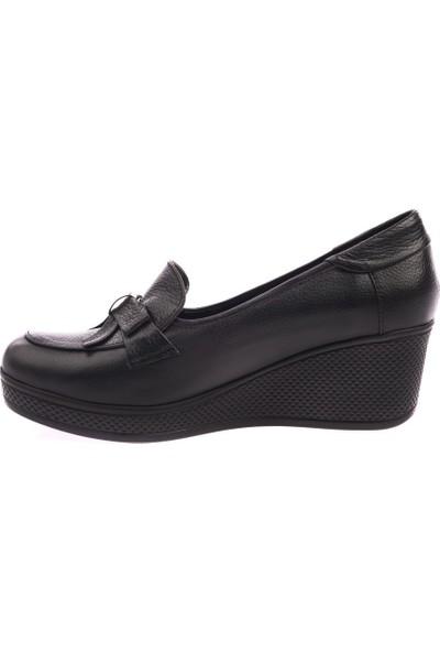 Dgn 205 Kadın Dolgu Taban Fiyonklu Ayakkabı 20Y