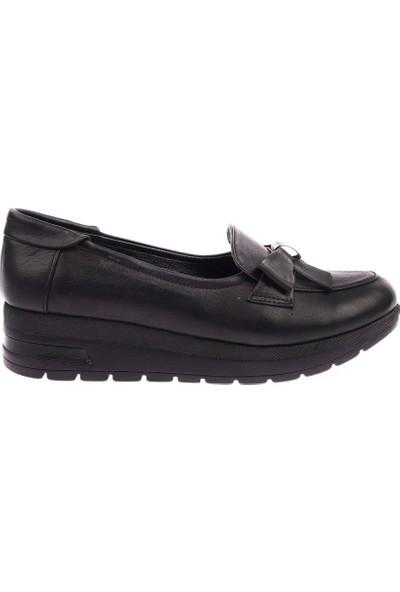 Dgn 426 Kadın Dolgu Taban Fiyonklu Ayakkabı 20Y