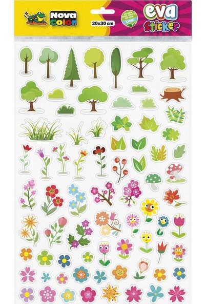 Nova Color 20 x 30cm Doğa Eva Sticker