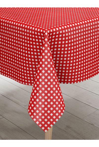 Belnido Home Pötikare Ekose Dertsiz Masa Örtüsü Piknik Örtüsü MSK90003V3