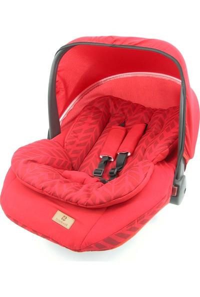 Bronkwell Ana Kucağı Bebek Taşıma Koltuğu Pedli Kırmızı
