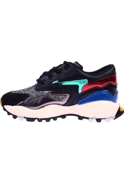 Dgn 085-3435 Kadın Sneakers Spor Ayakkabı 20Y