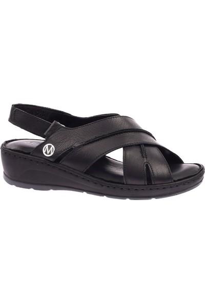 Messimod H20Y2108 Kadın Çapraz Yüz Soft Sandalet