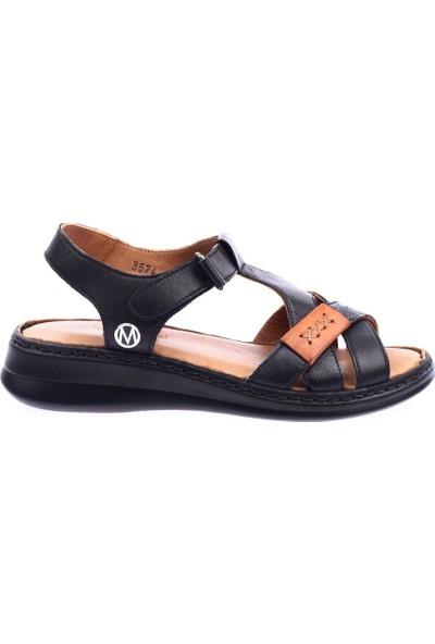 Messimod H20Y3574 Kadın T-Strap Soft Sandalet