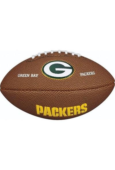 Wilson Nfl Green Bay Packers Amerikan Futbol Topu Maketi WTF1533XBGB