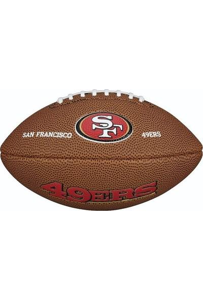 Wilson Nfl Sf 49ERS Amerikan Futbol Topu Maketi WTF1533XBSF