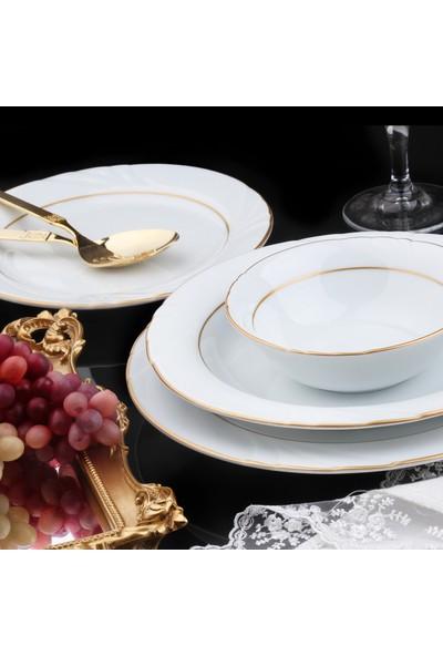 Güral Porselen Soprano 24 Parça Yemek Takımı