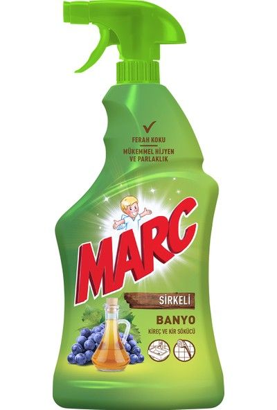 Marc Banyo Yüzey Temizleyici Sprey Sirkeli 750 ml