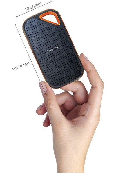 Sandisk Extreme Pro 500GB 1050MB-1050MB/s USB 3.2 Taşınabilir SSDSDSSDE80-500G-G25
