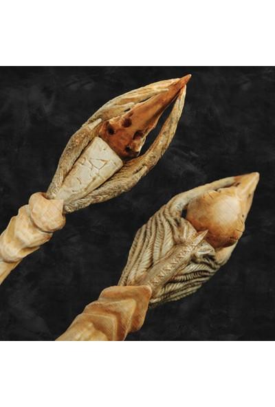 Raven Skull Özel Tasarım Asa Harry Potter Patronus Asaları Kuzgun