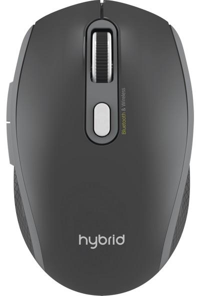 Polosmart Hybrid Bluetooth & Wireless V 5.0 Kablosuz Mouse