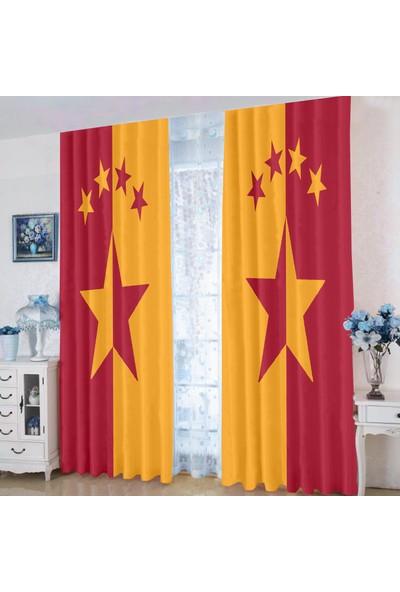 Efşan Galatasaray 140 x 200 Çocuk Odası Fon Perde
