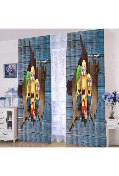 Efşan 140 x 200 Çocuk Odası Fon Perde