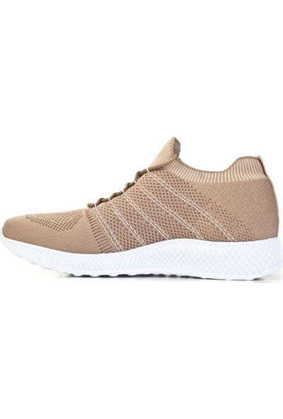 Cabani Ayakkabı Bej Triko9YEA07AY231M50