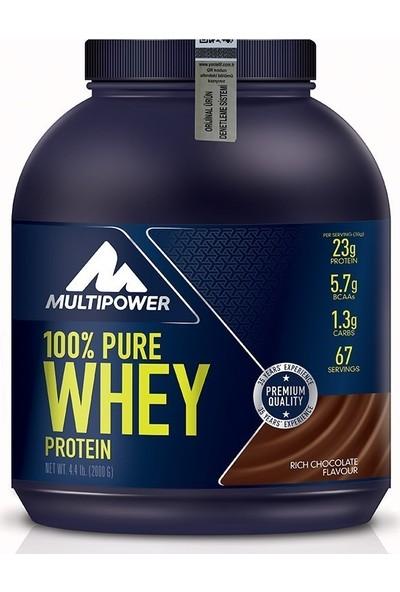 Multipower Pure Whey Protein 2000 gr Çikolata