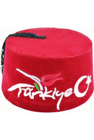Pologift Dekoratif Türkiye Işlemeli 6'lı Çocuk Fes ve Başlığı