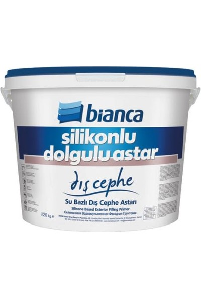 Bianca Silikonlu Dış Cephe Astarı Dolgulu 20,0 kg