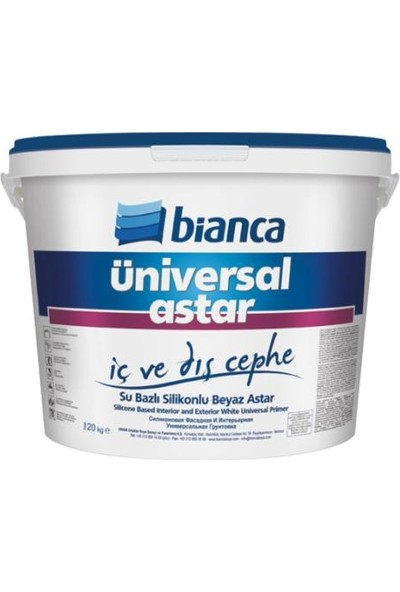 Bianca Üniversal Silikonlu İç Dış Astar 10,0 kg