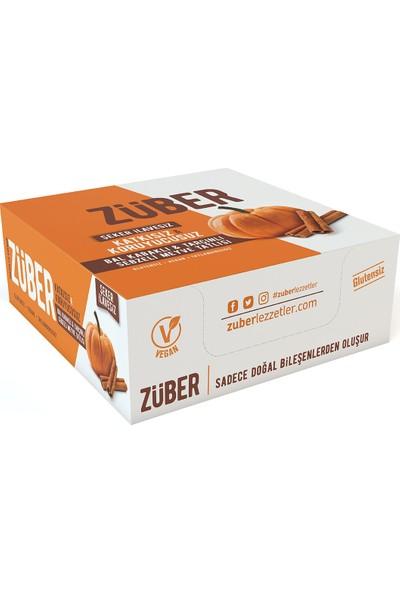 Züber Bal Kabaklı ve Tarçınlı Sebzeli Meyve Tatlısı 35 gr x 12'li