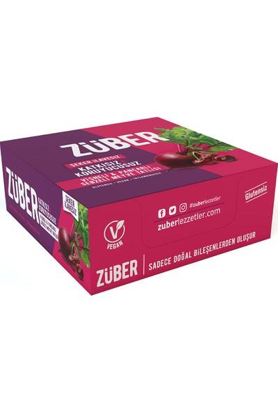 Züber Vişneli ve Pancarlı Sebzeli Meyve Tatlısı 35 gr x 12'li