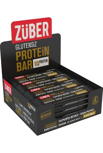 Züber Kakaolu Protein Barı 35 gr x 12'li