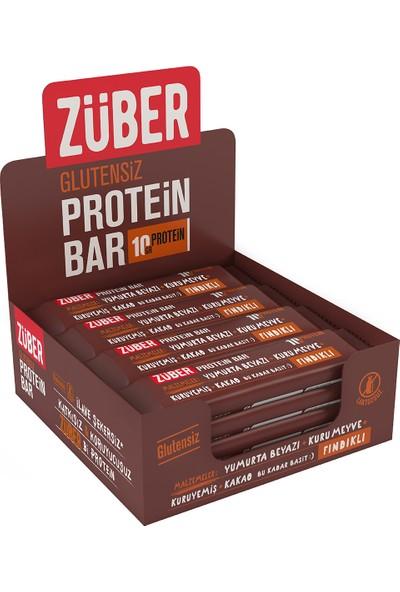 Züber Fındıklı Protein Barı 35 gr x 12'li