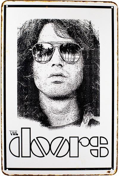 Carma Concept The Doors Metal Duvar Konser Posterleri Retro Müzik Panoları