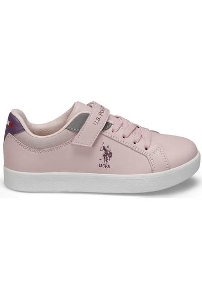 U.s. Polo Assn. Arnold Pudra Kız Çocuk Sneaker Ayakkabı 31