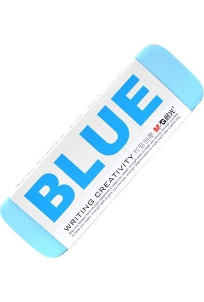 Idora Renkli Büyük Silgi Mavi