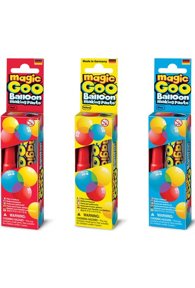 Imagine Station Magic Goo (3 in 1) Red Blue Yellow