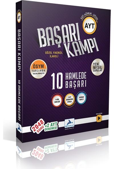 Paraf Yayınları AYT Eşit Ağırlık Sözel 10 Hamlede Başarı Kampı + 2 AYT Denemesi