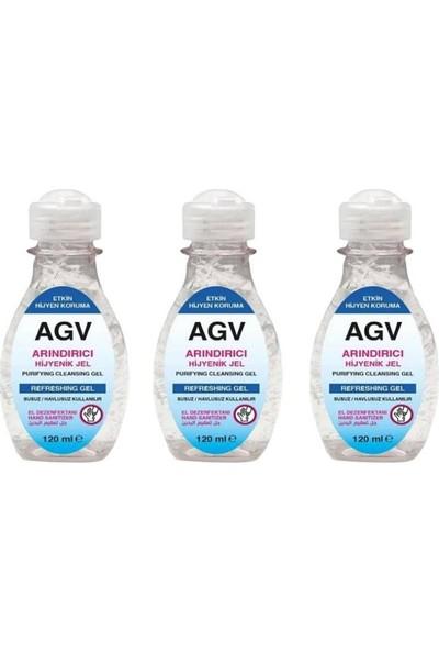Agiva Antibakteriyel El Temizleyici Jel 250ML 3 Adet