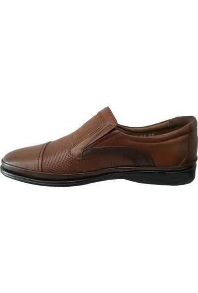 Forex 2699 Anatomik Siyah Günlük Deri Erkek Ayakkabı