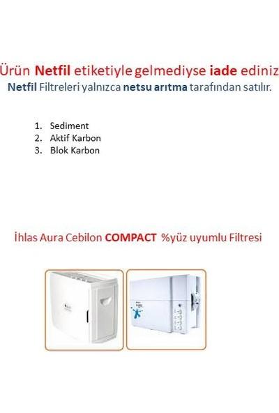 Netsu İhlas Aura Cebilon Compact Filtresi Filtre Seti 3'lü