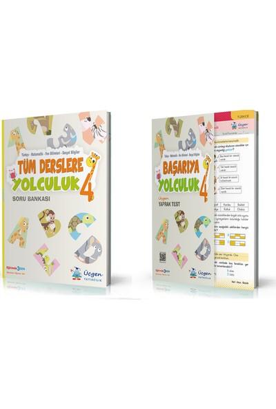 Üçgen Yayıncılık 4. Sınıf Tüm Dersler + Başarıya Yolculuk ( Yaprak Test) 2 Kitap